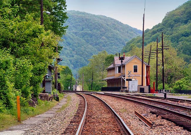 Thurmond Depot - New River Gorge National River, West Virginia