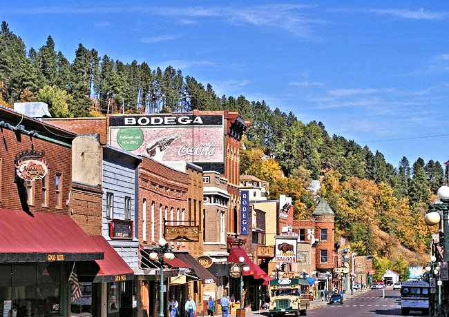 Historic District - Deadwood, South Dakota