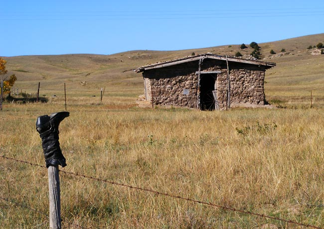 Windlass Hill Sod House