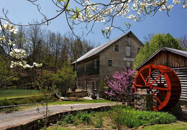 Cook's Old Mill - Greenville, West Virginia