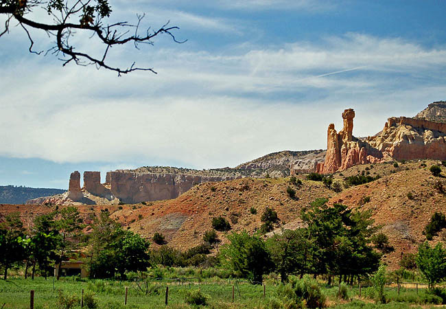 Ghost Ranch Chimney Rock - Abiquiu, New Mexico
