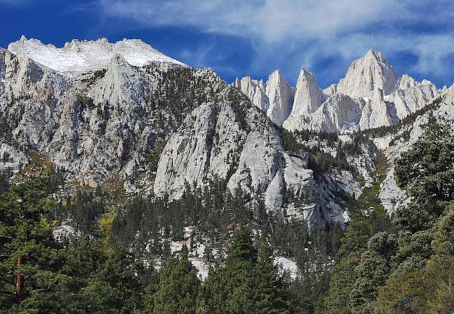 Mount Whitney (Upper Right) - Lone Pine, California