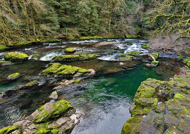 South Santiam River - Over the Rivers and Through the Woods Scenic Byway, Oregon