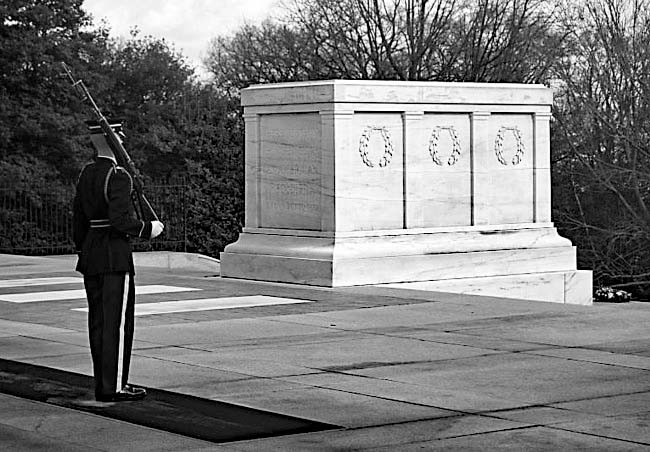 Tomb of the Unknowns - Arlington National Cemetery, Virginia