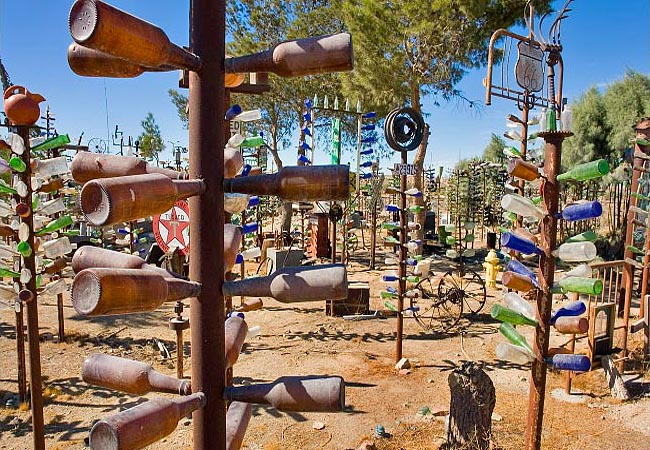 Bottle Tree Ranch - Oro Grande, California