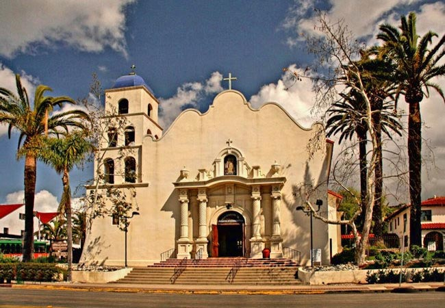 Immaculate Conception Church - California