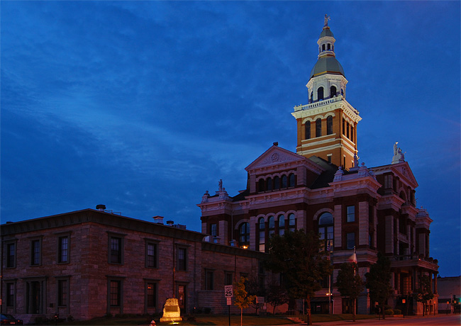 County Courthouse and Jail - Dubuque, Iowa