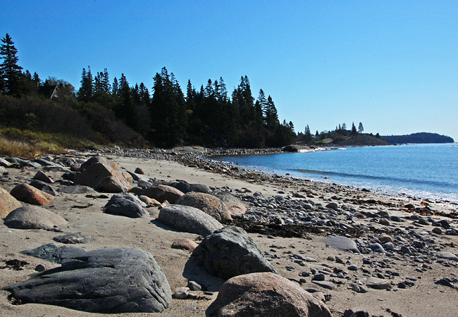 Roque Bluffs - Bold Coast Scenic Byway, Maine