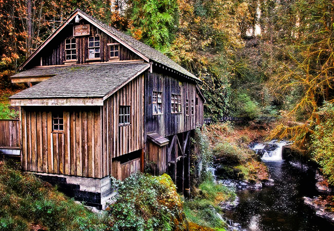 Cedar creek mill washington for The cedar mill