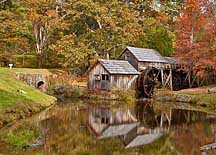 Mabry Mill in Autumn - Blue Ridge Parkway, Virginia