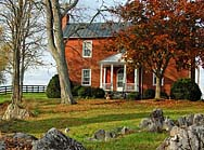 McCormick Manor House - Cyrus McCormick's Farm, Raphine, Virginia