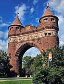 Soldiers and Sailors Memorial Arch - Hartford, Connecticut