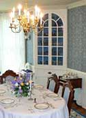 Dining Room - Octagon House, Hudson, Wisconsin
