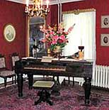 Music Room - Octagon House, Hudson, Wisconsin