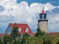 LightHouse - Monhegan Island, Maine
