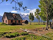 John Moulton Home, Mormon Row - Grand Teton National Park, Wyoming