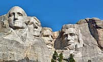 Mount Rushmore Presidents - Black Hills, South Dakota