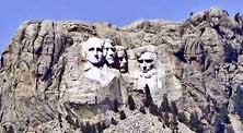 Mount Rushmore National Monument - Black Hills, SD