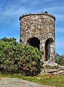 Mt Battie Observation Tower - Camden Hills State Park, Camden, Maine