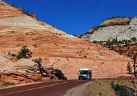 Mt Carmel Road - Zion National Park, Kane County, Utah