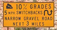 Approach to Moki Dugway - UT 261
