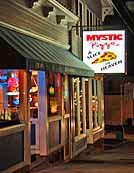 Mystic Pizza, a famous tourist destination made famous by the movie of the same name.