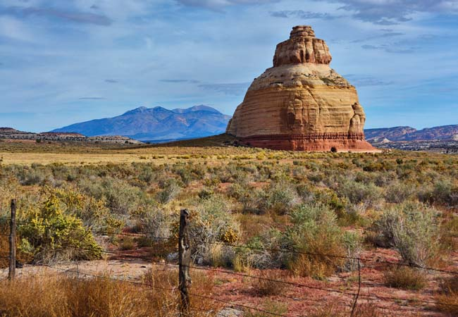 Church Rock - Monticello, Utah