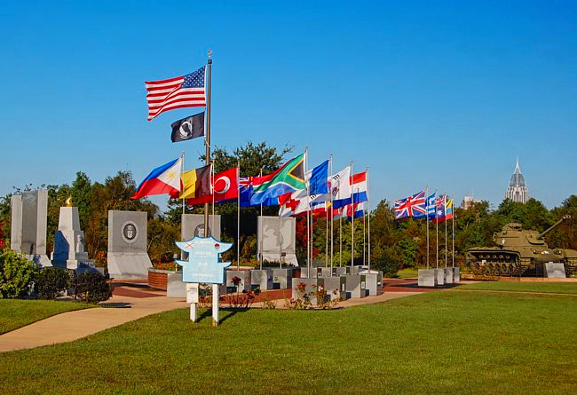 Korean War Memorial - Alabama