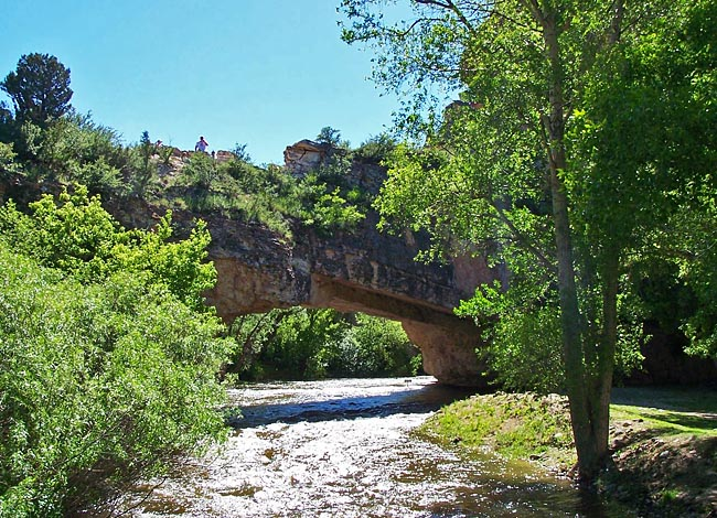 Ayers Natural Bridge - Douglas, Wyoming
