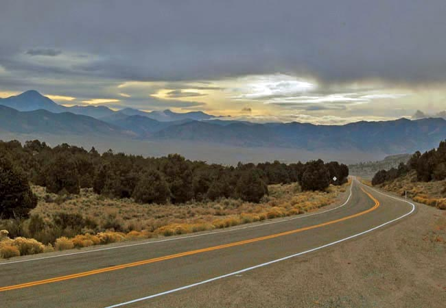 Loneliest Highway - Nevada