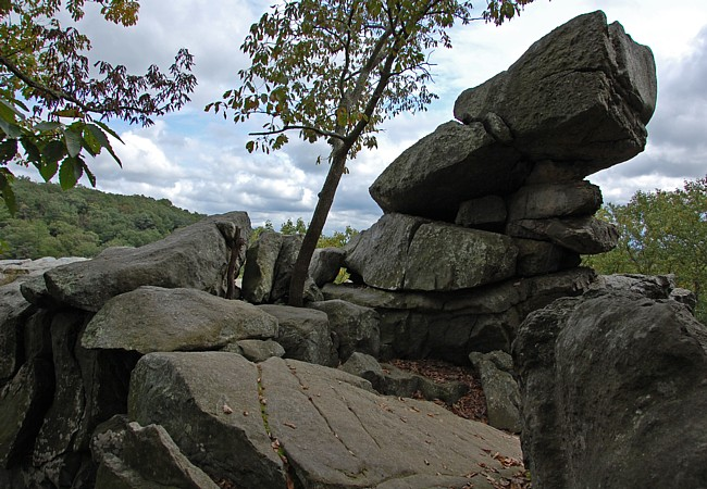 King and Queen Seat, Rock Ridge Picnic Area - Rocks State Park, Maryland