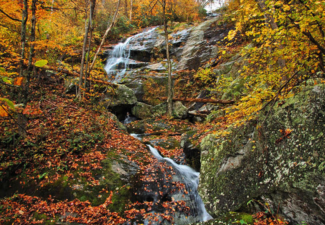 Crabtree Falls - George Washington National Forest, Virginia