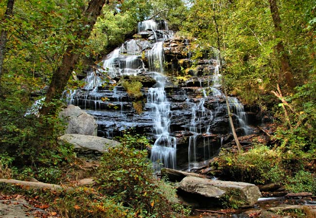 Issaqueena Falls - Walhalla, South Carolina