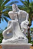 Neptune God of the Sea - St Armands Circle, Lido Key, Florida