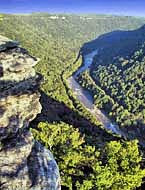 New River at Diamond Point - New River Gorge