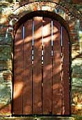 Old Newgate Prison Entrance Door