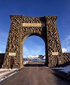 Roosevelt Arch - Yellowtone National Park, Montana