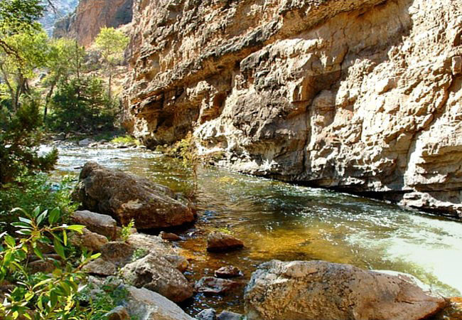 Shell Creek - Shell Falls Interpretive Site, Bighorn National Forest, Wyoming