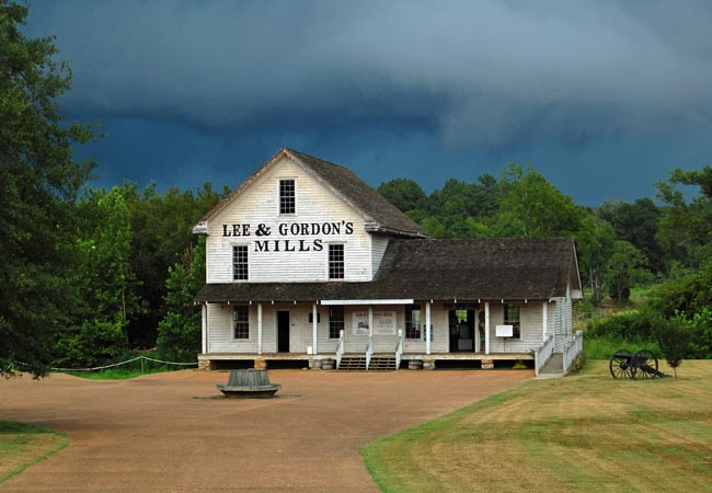 Lee and Gordon's Mills - Chickamauga, Georgia