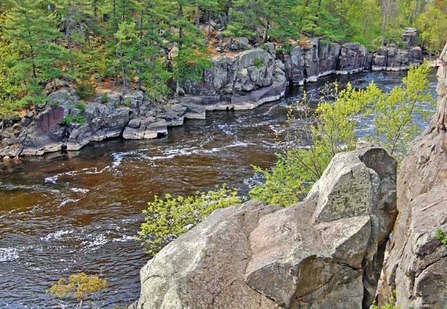 The Dalles of St. Croix - St Croix Falls, Wisconsin