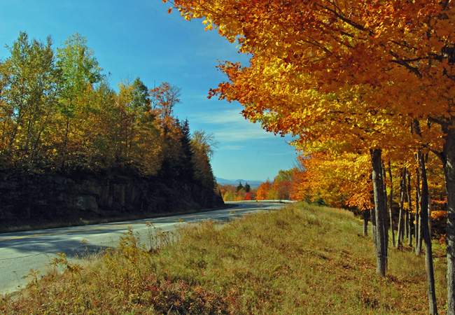 Height of Land - Rangeley Lakes Byway, Maine