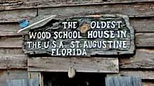 Old Schoolhouse Sign