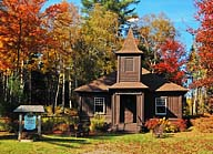 Log Church - Oquossoc Union Church