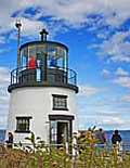 Owl Point Lighthouse - Rockland Harbor Maine