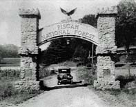 Pisgah Forest Entrance Arch