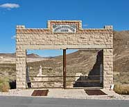 HD and LD Porter Store - Rhyolite, Nevada
