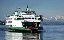 Puget Sound Ferry - San Juan Islands Scenic Byway, WA