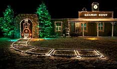 Railway Depot - Overly's Country Christmas, Pennsylvania
