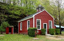 Bunker Hill School House - Red Mill Museum Village, Clinton, New Jersey