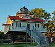 Roanoke River Lighthouse - Plymount, North Carolina